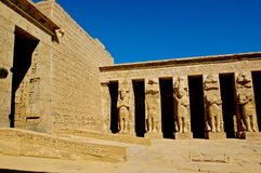 Medinet Habu Temple Egypt Royalty Free Stock Images