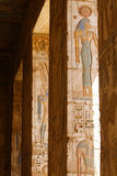 Medinet Habu Temple Egypt Stock Image