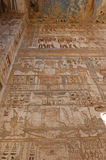 Medinet Habu Temple Egypt. Egypt, Upper Egypt, Nile Valley, Gaugue bank of Thebes, about Luxor, Medinet Habu Temple classified World Heritage royalty free stock image