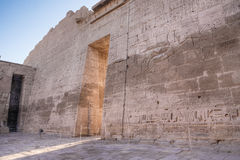 Medinet Habu temple in Luxor Stock Photo