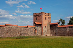 Medininkai城堡 库存图片