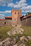 Medininkai castle Royalty Free Stock Image