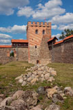 Medininkai slott Royaltyfri Bild