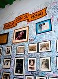medio Λα της Κούβας del Αβάνα bodeguita Στοκ φωτογραφία με δικαίωμα ελεύθερης χρήσης