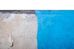 Medio azul y papel pintado concreto viejo Fotos de archivo libres de regalías