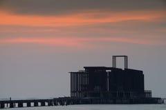 Medio de los templos viejos del mar imágenes de archivo libres de regalías