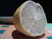 Medio limón Foto de archivo