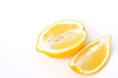 Medio limón dos Imágenes de archivo libres de regalías