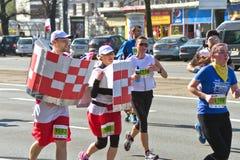 Medio maratón 2014 de Varsovia Fotografía de archivo libre de regalías
