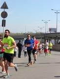 Medio maratón internacional Foto de archivo