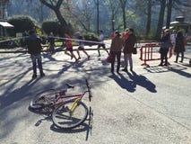 Medio maratón Torino de Santander Fotos de archivo libres de regalías