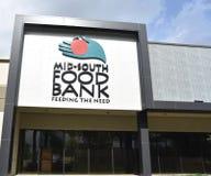 Medio-zuid de Ingang van de Voedselbank, Memphis, TN stock fotografie