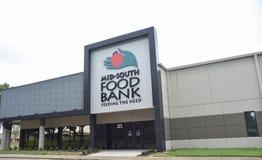 Medio-zuid Voedselbank, Memphis, TN stock foto