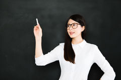 The mediocre teacher tells. The good teacher explains Royalty Free Stock Images