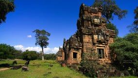 Mediodía del thom de Angkor Imágenes de archivo libres de regalías