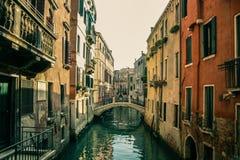 Mediodía en el labirynth de Venecia Foto de archivo