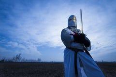 Medioeval骑士 免版税库存图片
