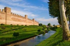medioeval τοίχοι στοκ φωτογραφία