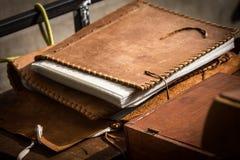 Medioeval-Buch Lizenzfreie Stockfotografie