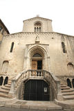 Medioeval cathedral of Grasse Royalty Free Stock Photography