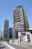 Mediolańscy Nowi mieszkania własnościowe Zdjęcia Royalty Free