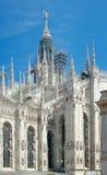 Mediolańska katedra, Mediolan, Włochy (1386-1965) Zdjęcie Royalty Free