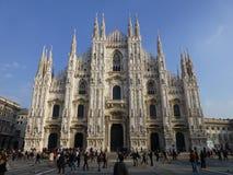 Mediolański Duomo Mediolan, Włochy Zdjęcie Stock