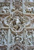 Mediolański Duomo szczegół Zdjęcie Stock