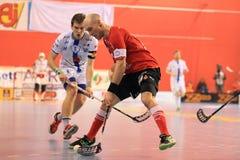 Mediolański Fridrich - floorball Zdjęcie Stock