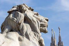 Mediolański Katedralny Włochy Fotografia Stock