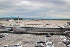 Mediolański Malpensa lotnisko międzynarodowe Zdjęcie Stock