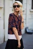 Mediolański moda tydzień Obraz Stock