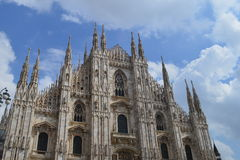Mediolańska katedra fotografia stock
