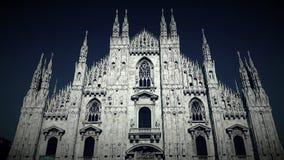 Mediolańska katedra Zdjęcia Royalty Free