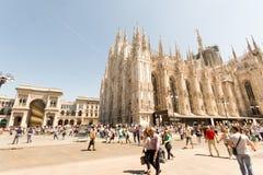 Mediolańska katedra (Duomo) fotografia royalty free