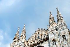 Mediolański Cathedra Zdjęcie Stock
