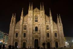 Mediolański Duomo Obrazy Stock
