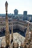 Mediolański Duomo Zdjęcie Royalty Free