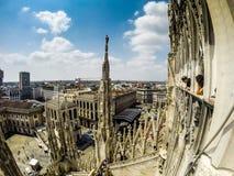 Mediolański Duomo Obraz Stock