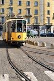 Mediolański tramwaj Zdjęcia Stock