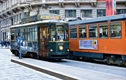 Mediolański tramwaj Obrazy Stock