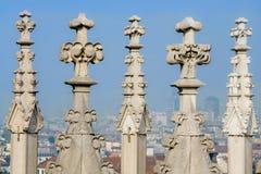 MEDIOLAN, ITALY/EUROPE - FBRUARY 23: Szczegół linia horyzontu Obrazy Royalty Free