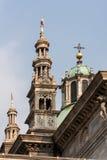 MEDIOLAN, ITALY/EUROPE - FBRUARY 21: Szczegół linia horyzontu Zdjęcie Royalty Free