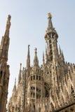 MEDIOLAN, ITALY/EUROPE - LUTY 23: Szczegół linia horyzontu Obrazy Stock