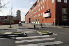 Mediolan, Milano bicocca uniwersytet Zdjęcia Royalty Free