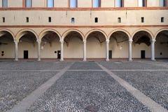 Mediolan, Milano forteca Obrazy Stock