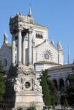 Mediolan monumentalny Cmentarz Zdjęcie Royalty Free