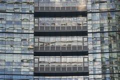 Mediolan, nowożytny budynek Zdjęcie Stock