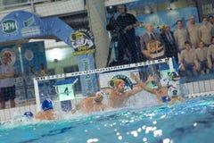 MEDIOLAN, STYCZEŃ 22: G Volarevic (bramkarza Bpm sporta zarządzanie Obraz Royalty Free