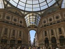 Mediolan, Włochy obrazy royalty free